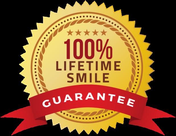 The Duryea Smiles Lifetime Guarantee