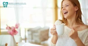 Duryea-FB-Ad-Smiling-woman-holding-coffee