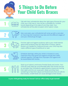 5 things to do before your child gets braces